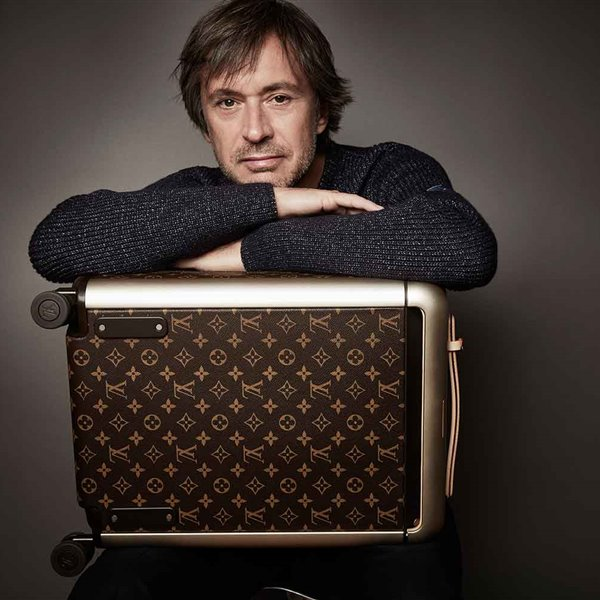 Marc Newson diseña maletas para Louis Vuitton