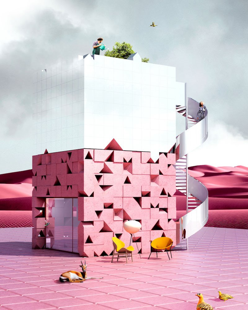 PINK SHELTER ANTIREALITY