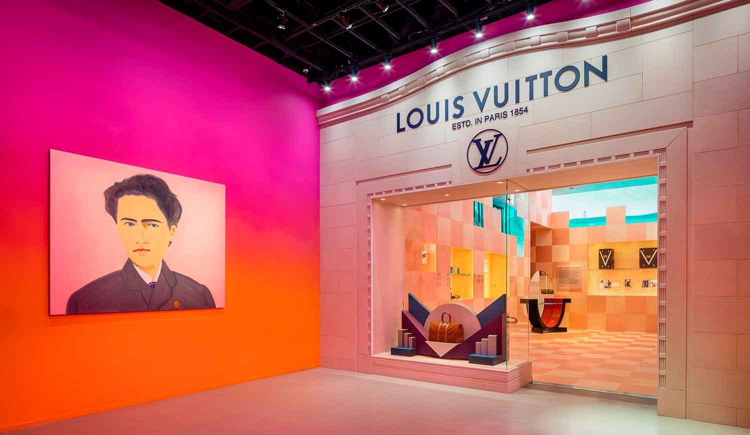 exposicion-Louis-Vuitton-Los-Angeles-escaparate-cuadro