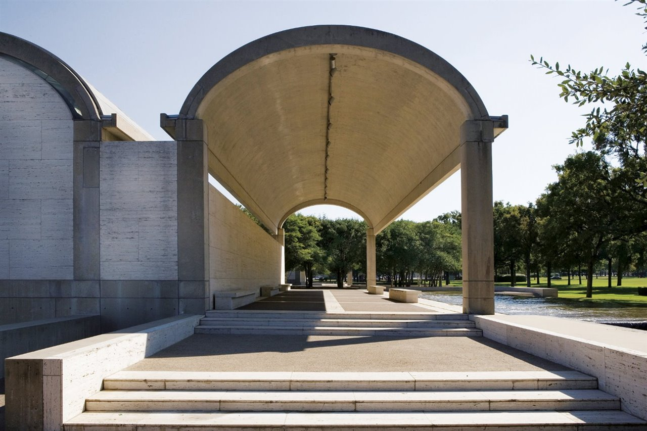 Kimbell Art Museum, Fort Worth (Texas), 1972