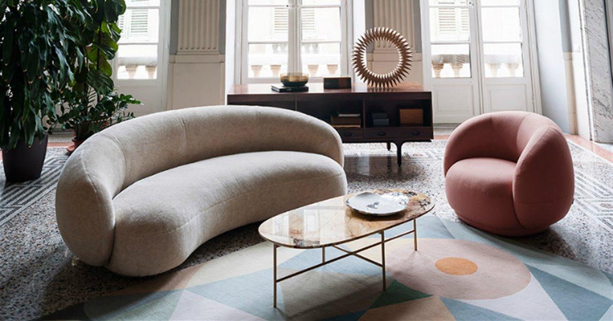 Julep, de Tacchini, es la colección de sofás más Avant-Garde que verás hoy