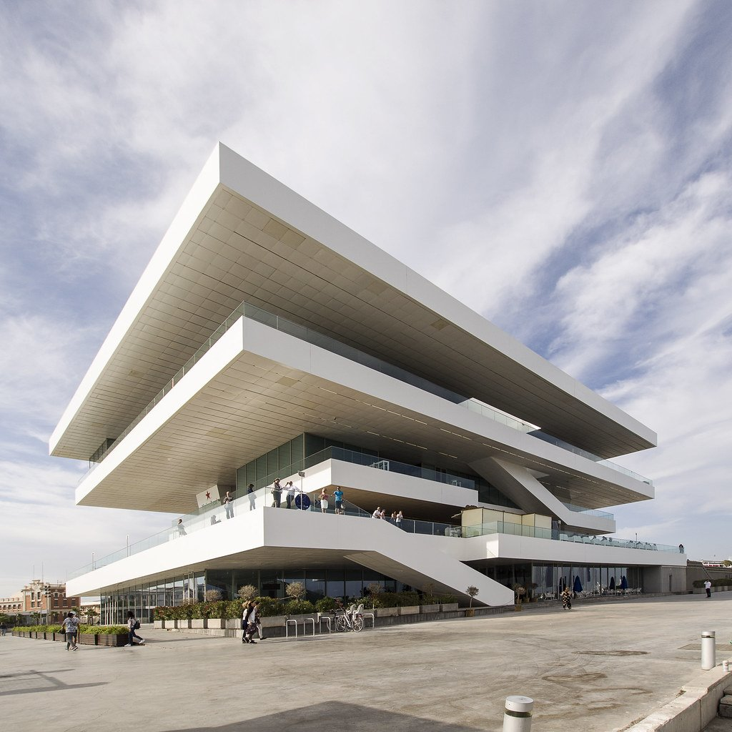 Edificio Veles i Vents de David Chipperfield y Fermin Vazquez