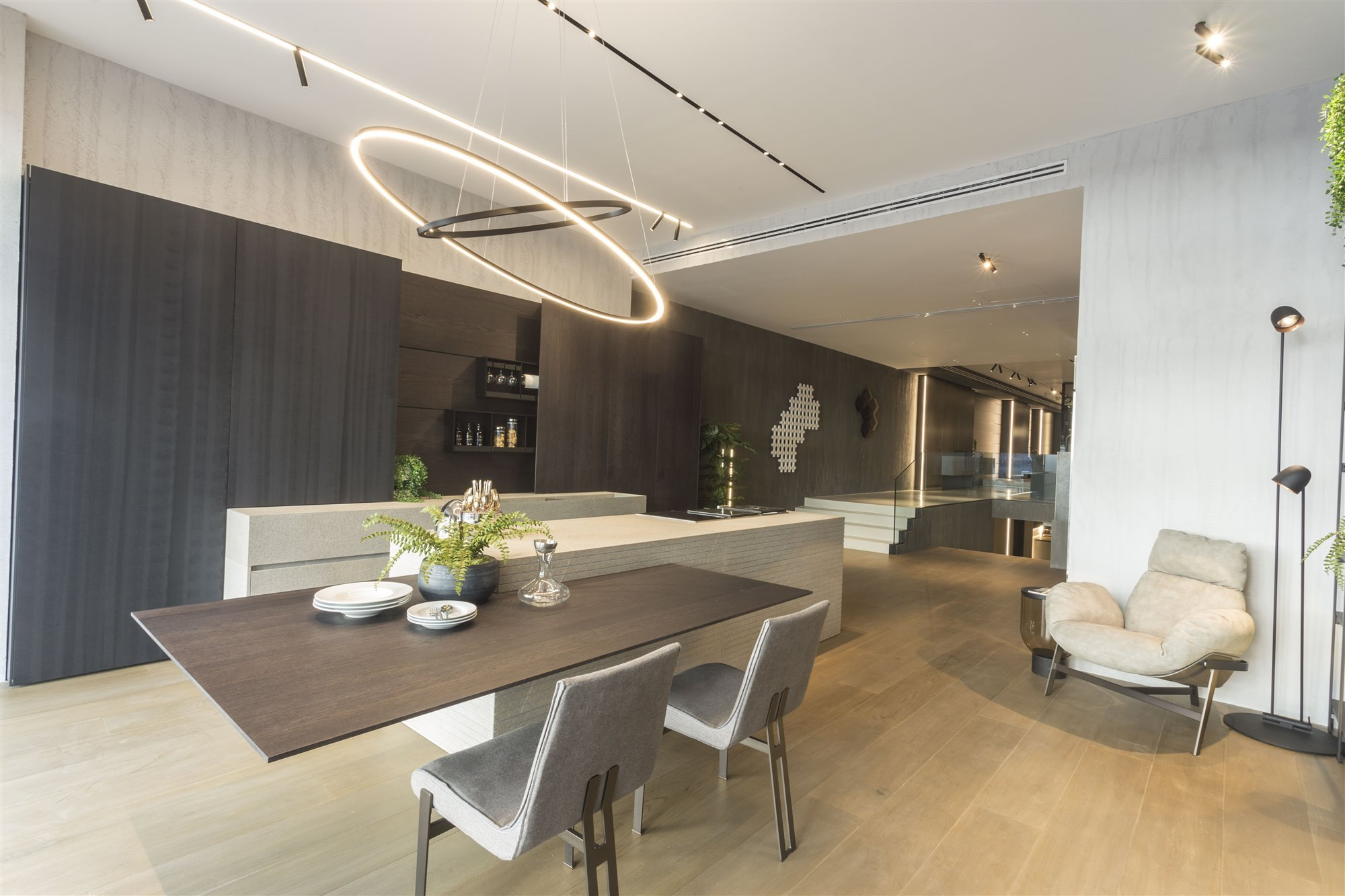 Espacio interior Modulnova Madrid showroom