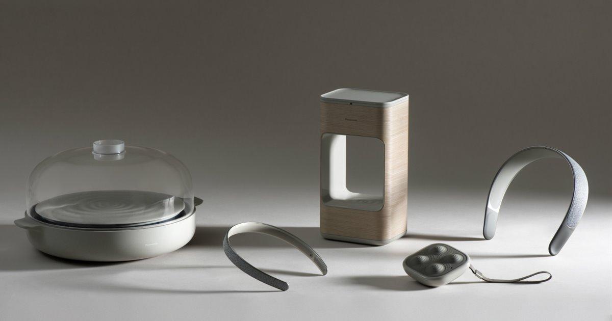 Layer y Panasonic se alían para crear los gadgets del hogar más futuristas que has visto