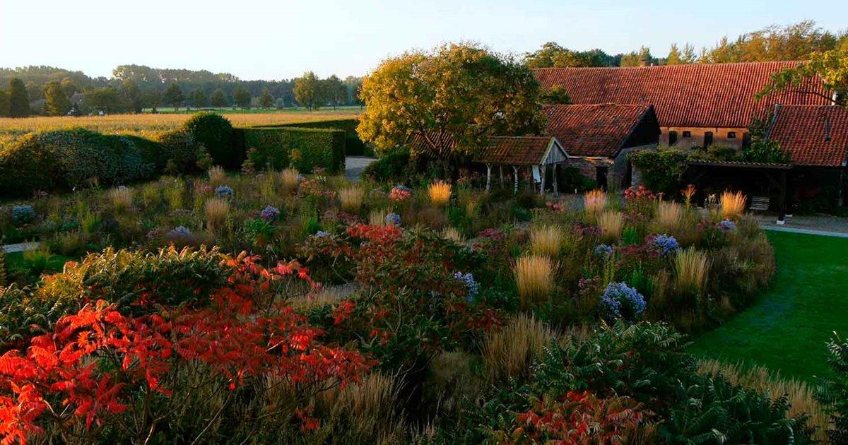 Este fin de semana podrás pasear por los jardines de Piet Oudolf