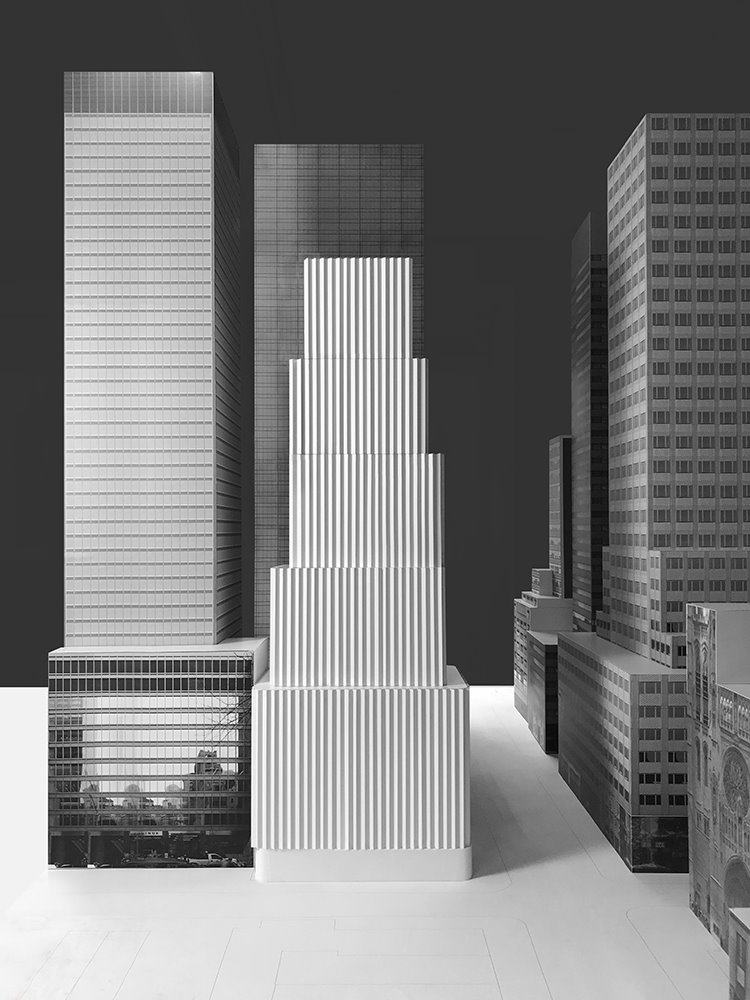 Maqueta del proyecto de David Chipperfield