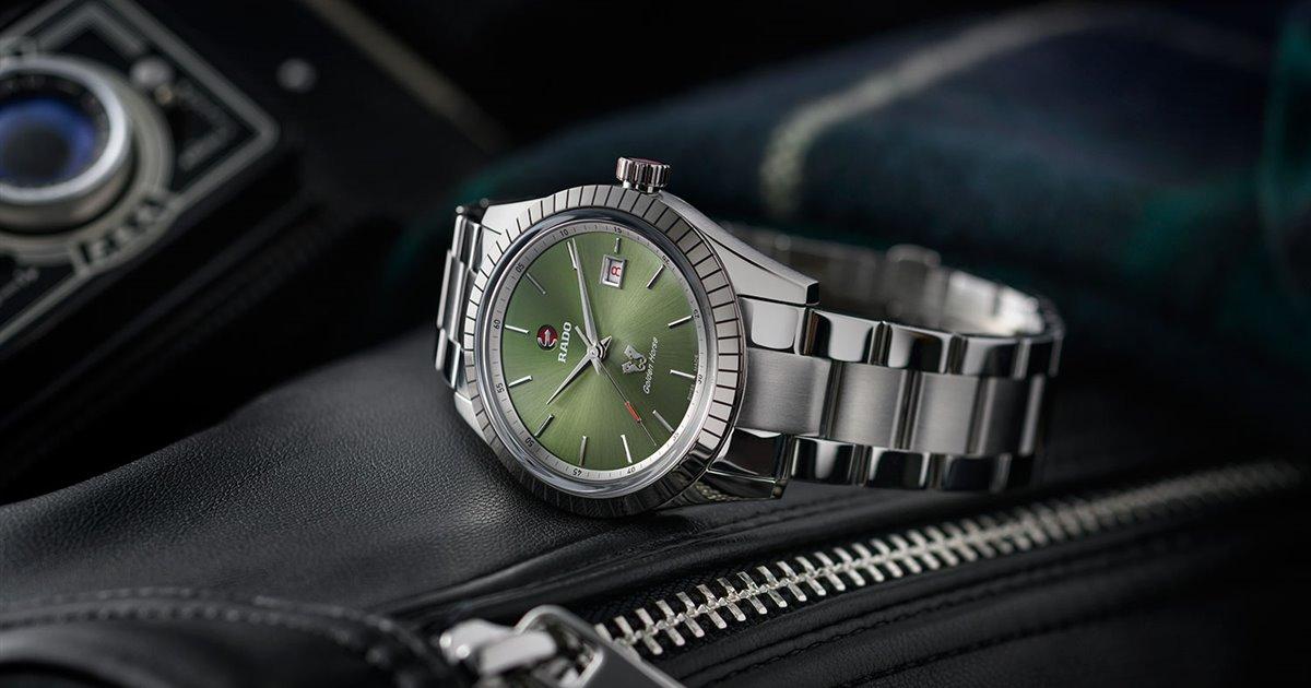 Los nuevos relojes Rado que querréis lucir toda la familia
