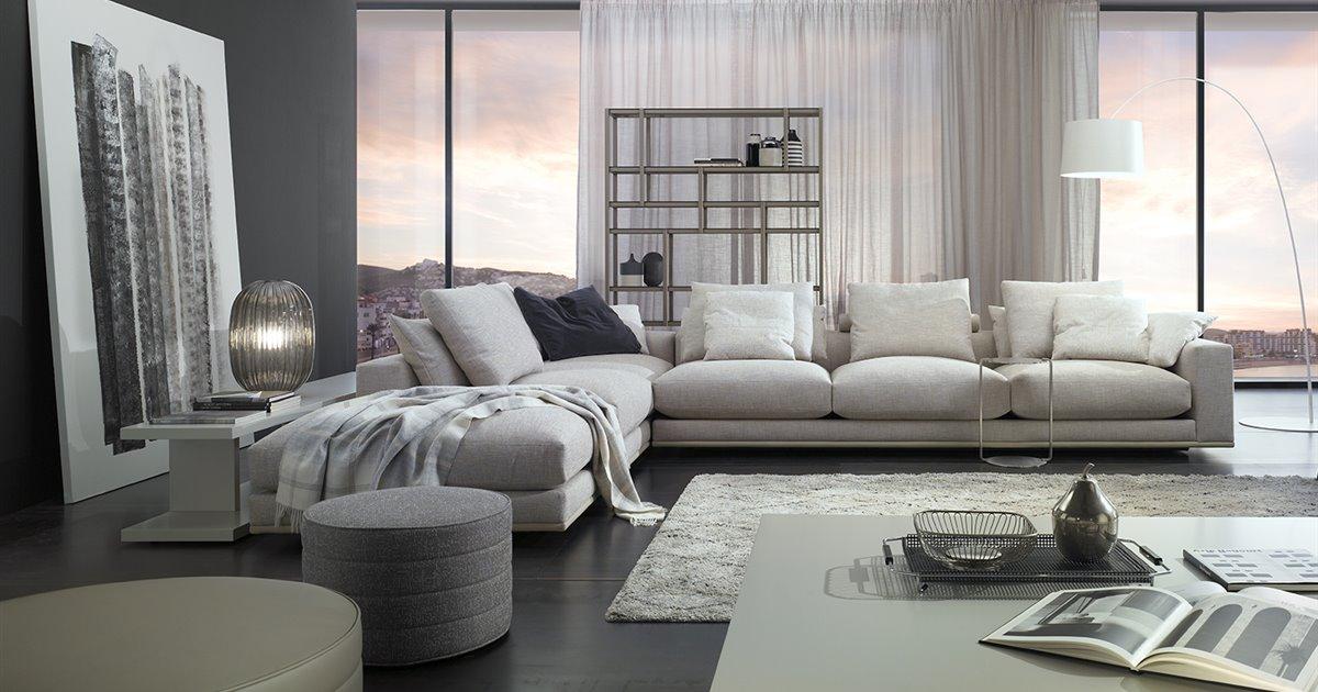 Un sofá clásico y elegante del que te costará despegarte