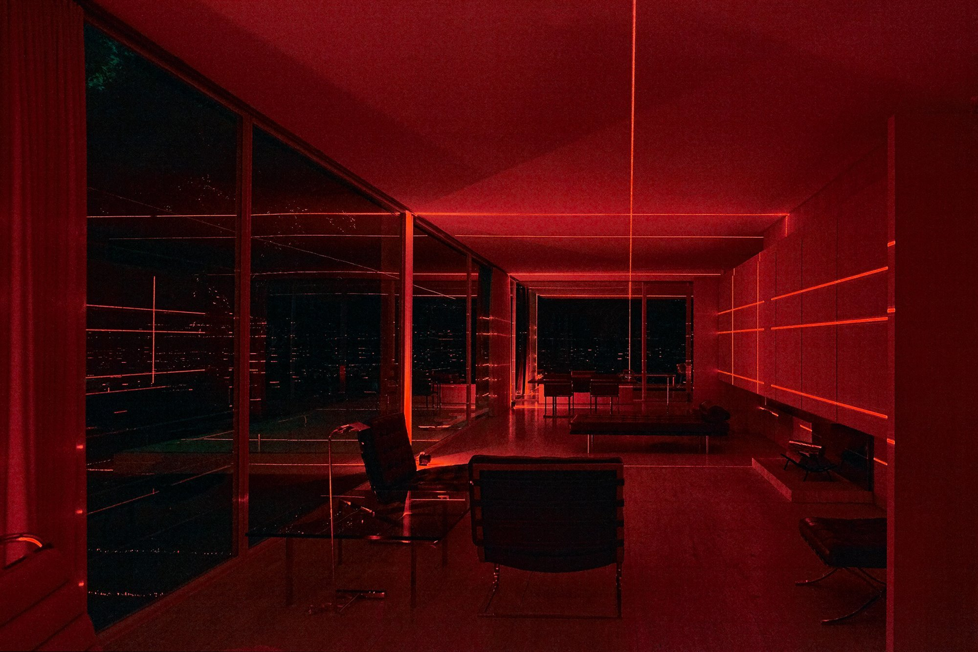 mies-van-der-rohe-farnsworth-house-iker-gil-luftwerk-geometry-of-light-red-laser