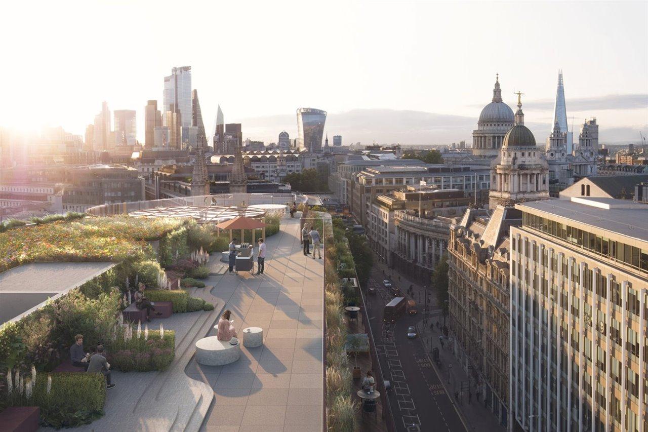 Un Hotel De Londres Tendrá La Fachada Vegetal Más Grande De