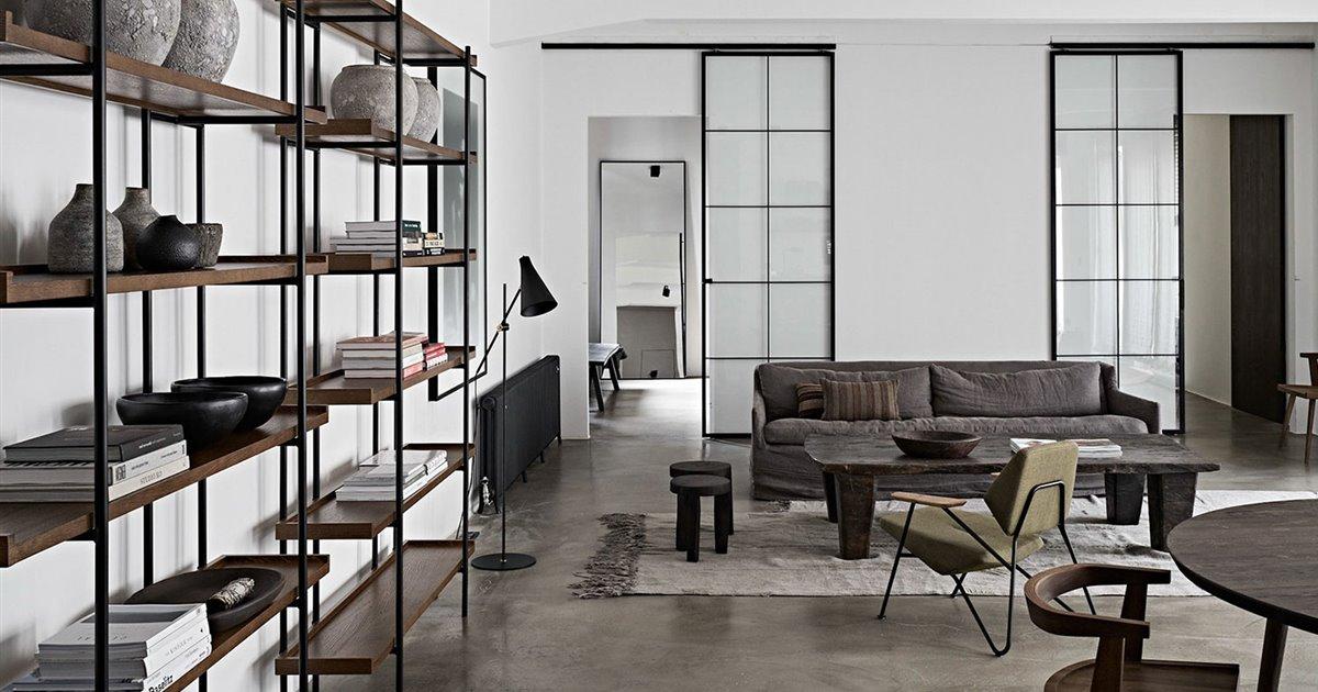 Una apartamento tipo 'loft' en Viena para un apasionado trotamundos