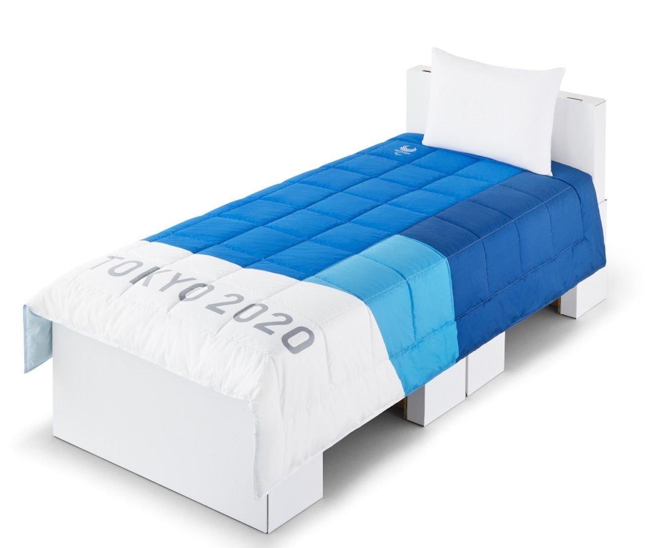 Los atletas olímpicos dormirán en camas de cartón en los Juegos de Tokio 2020