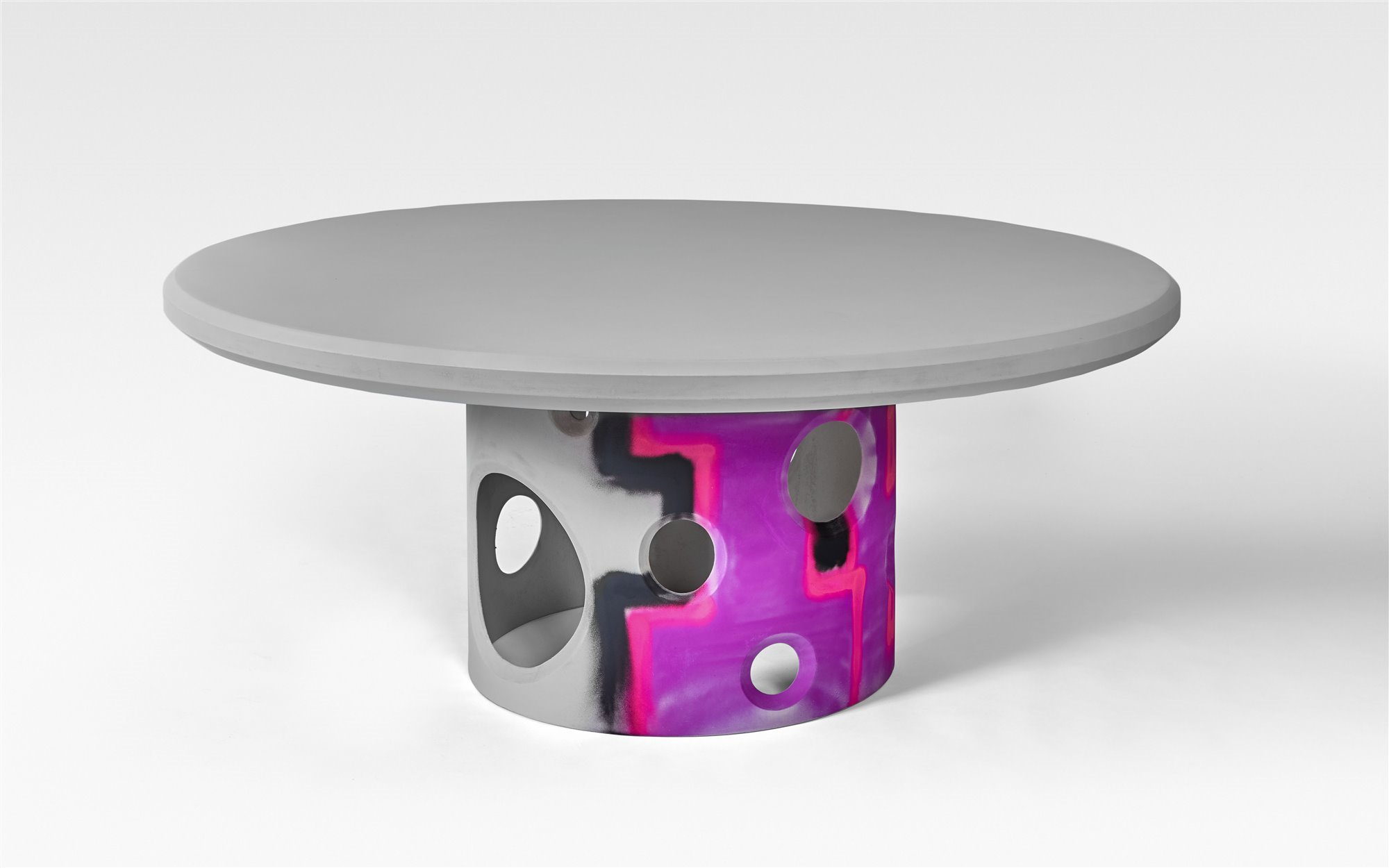 Virgil Abloh Efflorescence round table Galerie kreo