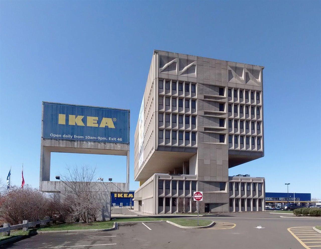 Aunque construyó una tienda en un terreno adyacente, Ikea no llegó a ocupar el edificio.