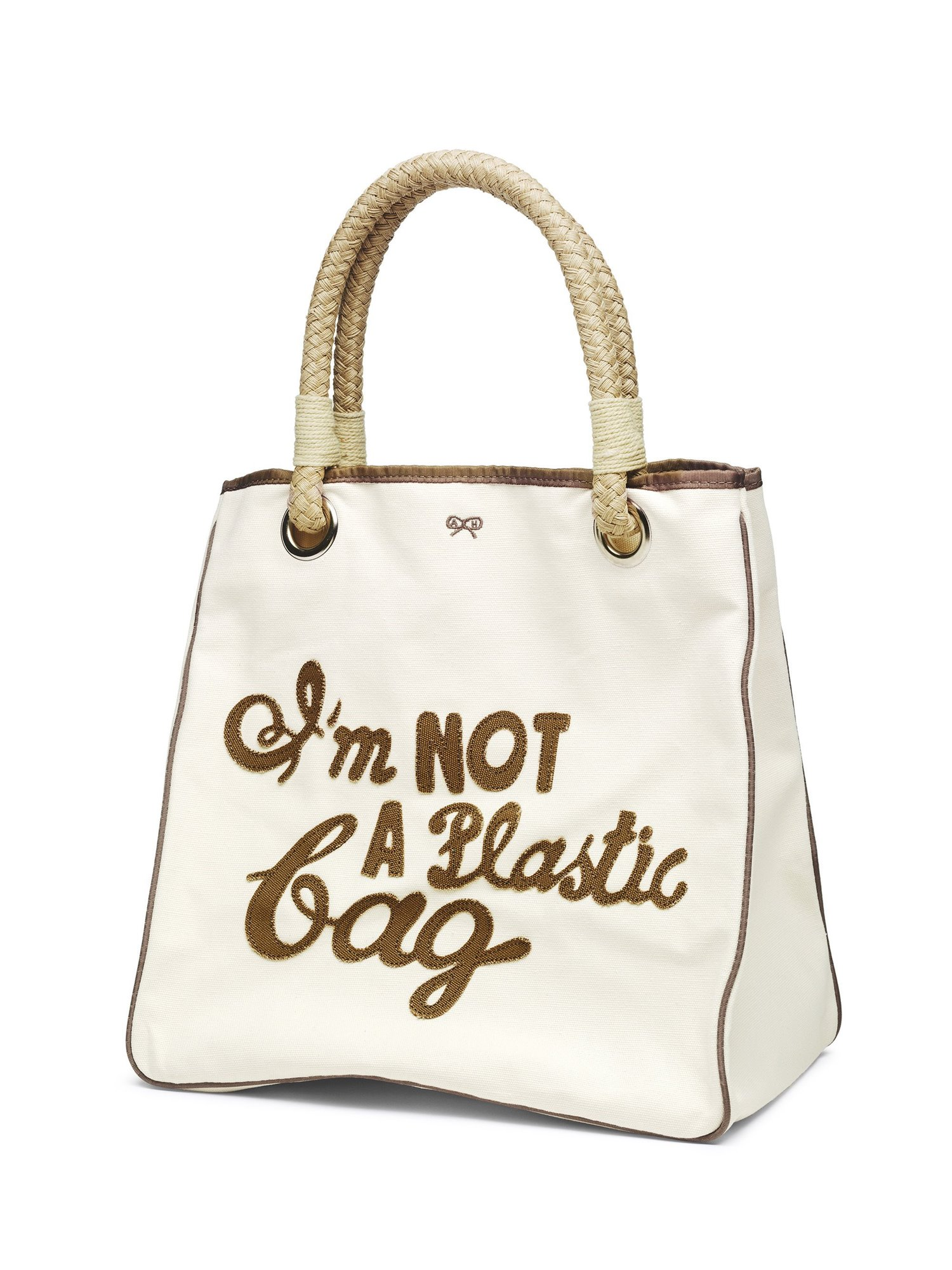 'I'm NOT a Plastic bag' tote bag