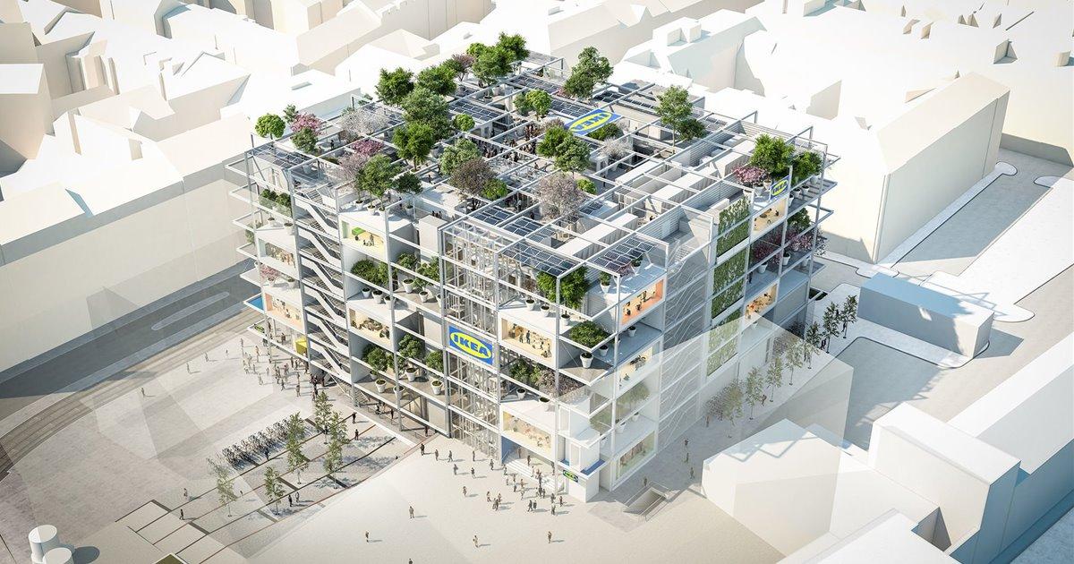 Ikea propone en Viena una tienda sostenible que abrirá en 2021