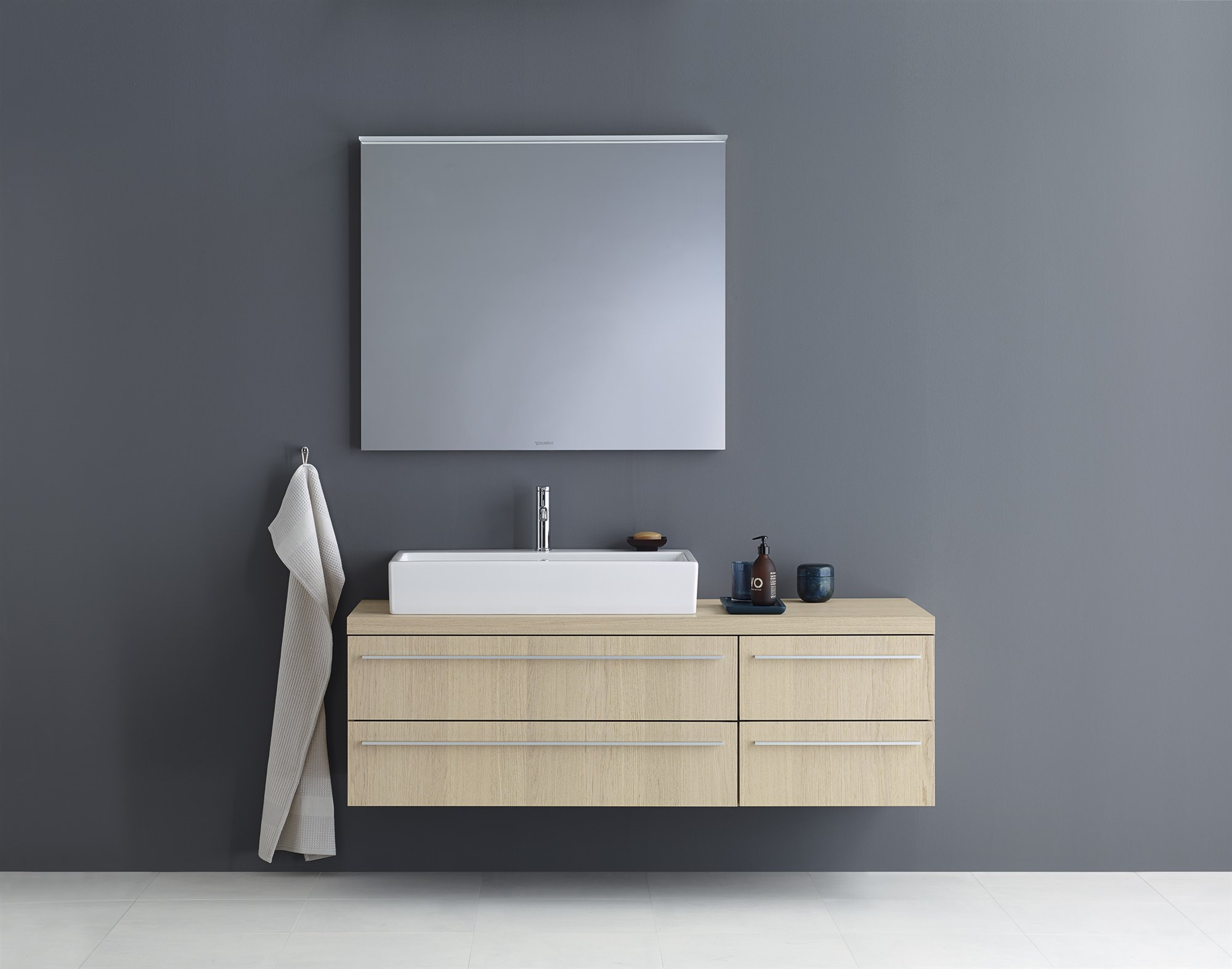 Duravit encimeras baño Unified console system X-Large