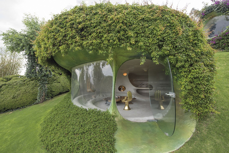 Casa Orgánica es una de las casas extrañas de México.
