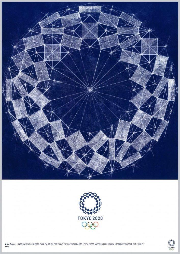 Posters Olimpiadas de Tokio 2020 Asao Tokolo