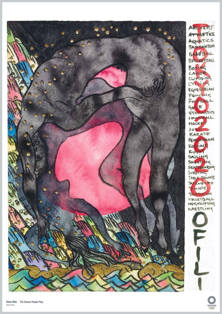 The Games People Play del artista Chris Ofili
