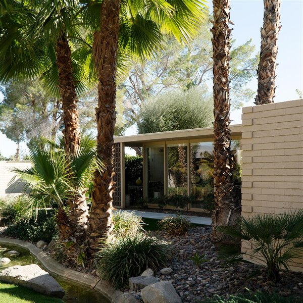 Racquet Club Cottages West sigue siendo uno de los iconos de Palm Springs
