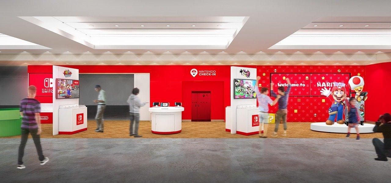 Nintendo abre unas salas temporales para jugar con sus consolas Switch en los aeropuertos de Washington D. C., Seattle, Chicago y Dallas