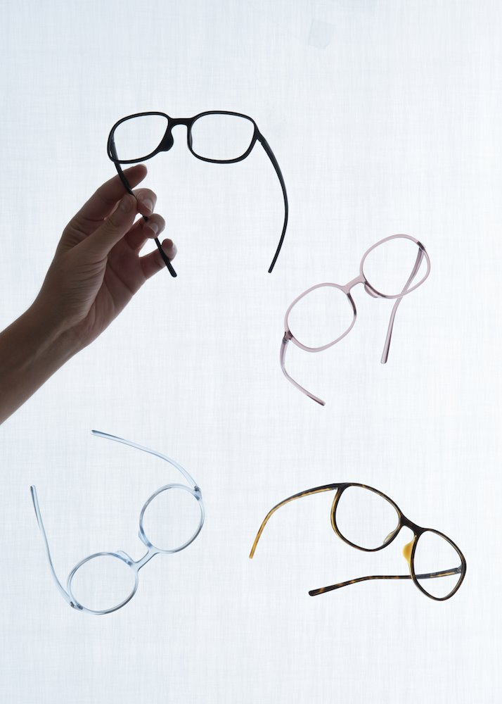gafas Sugata de los hermanos Bouroullec para Jins Design Project 5