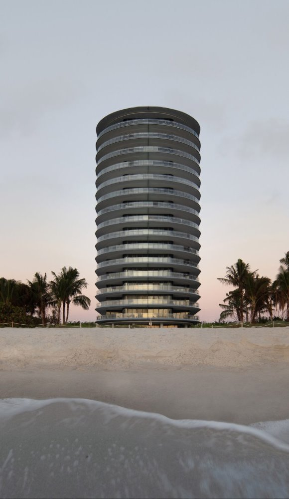 Eighty Seven Park de Renzo Piano en Miami Beach
