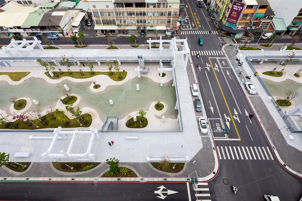 MVRDV transforma un antiguo centro comercial en Taiwan en parque público