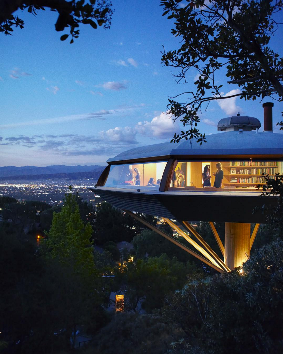 The Chemosphere de John Lautner vista en body double de Brian de Palma
