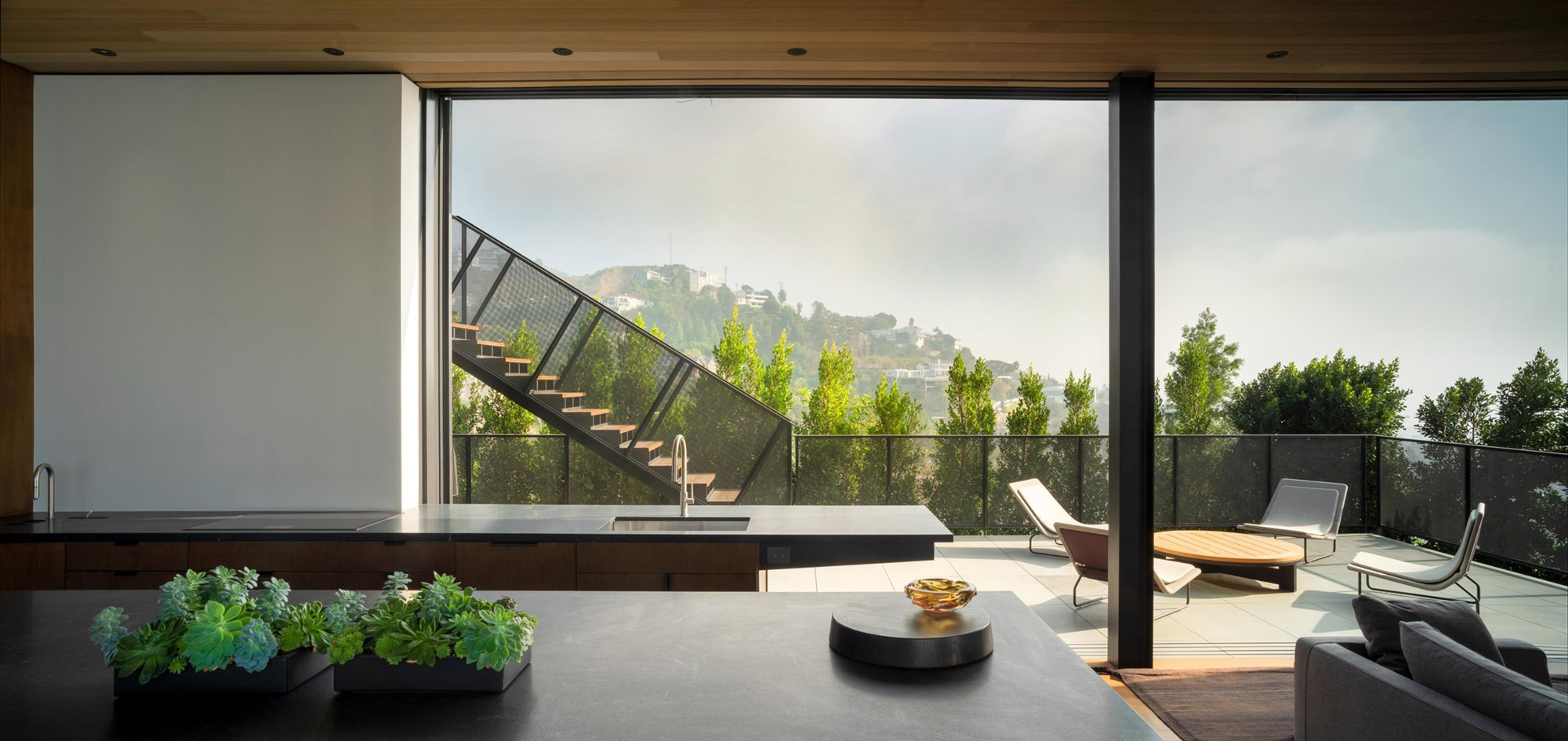 Casa en Collywood diseñada por Olson Kundig en Los angeles 14