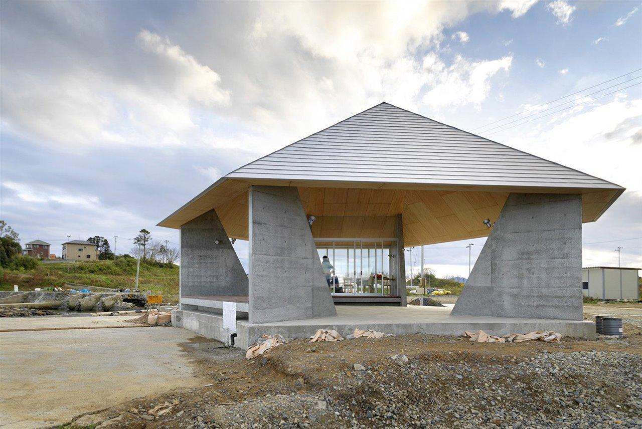 Proyecto Home for All, de Yang Zhou en colaboración con Kazuyo Sejima, Kesennuma, Japón.