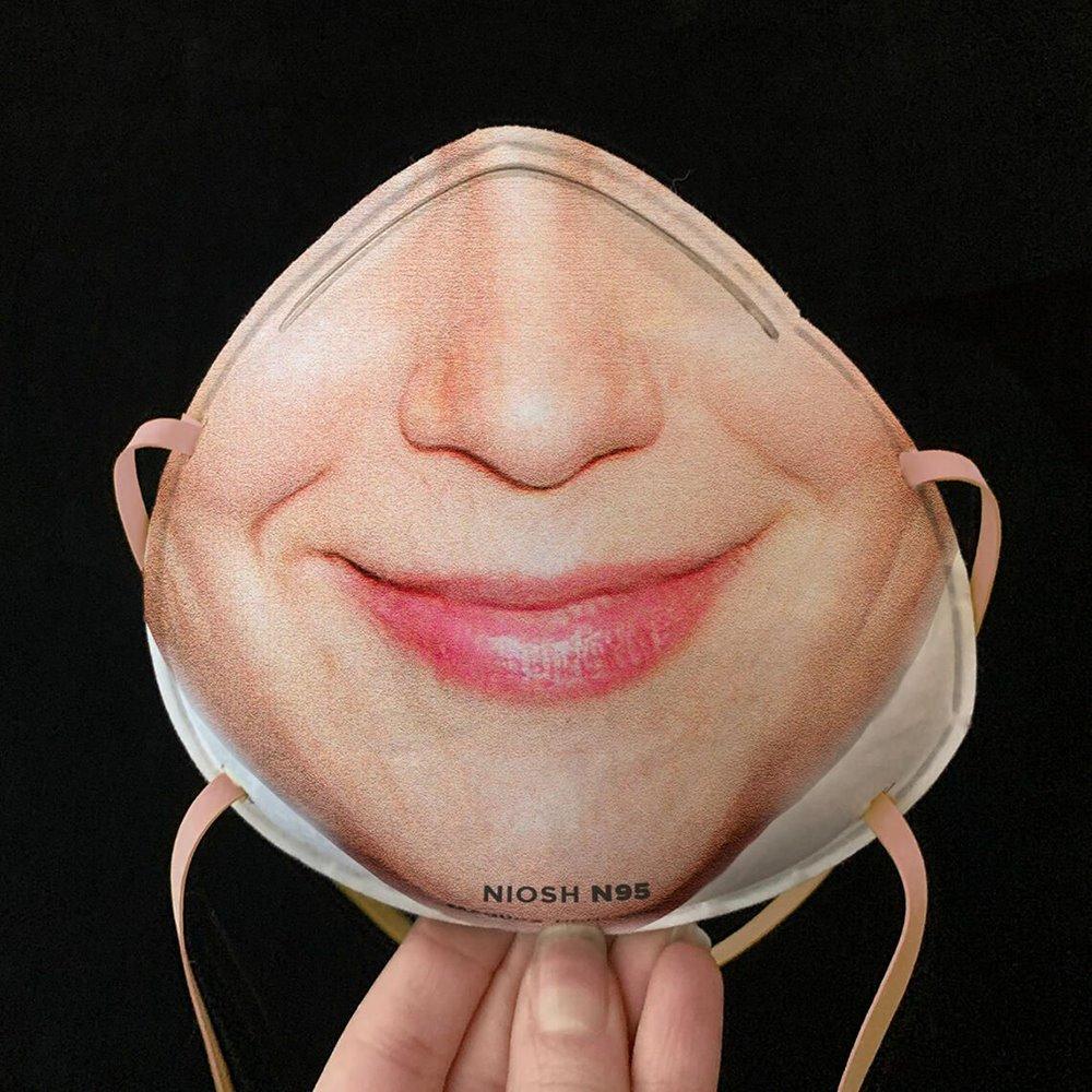 Máscara con reconocimiento facial de Maskalike.