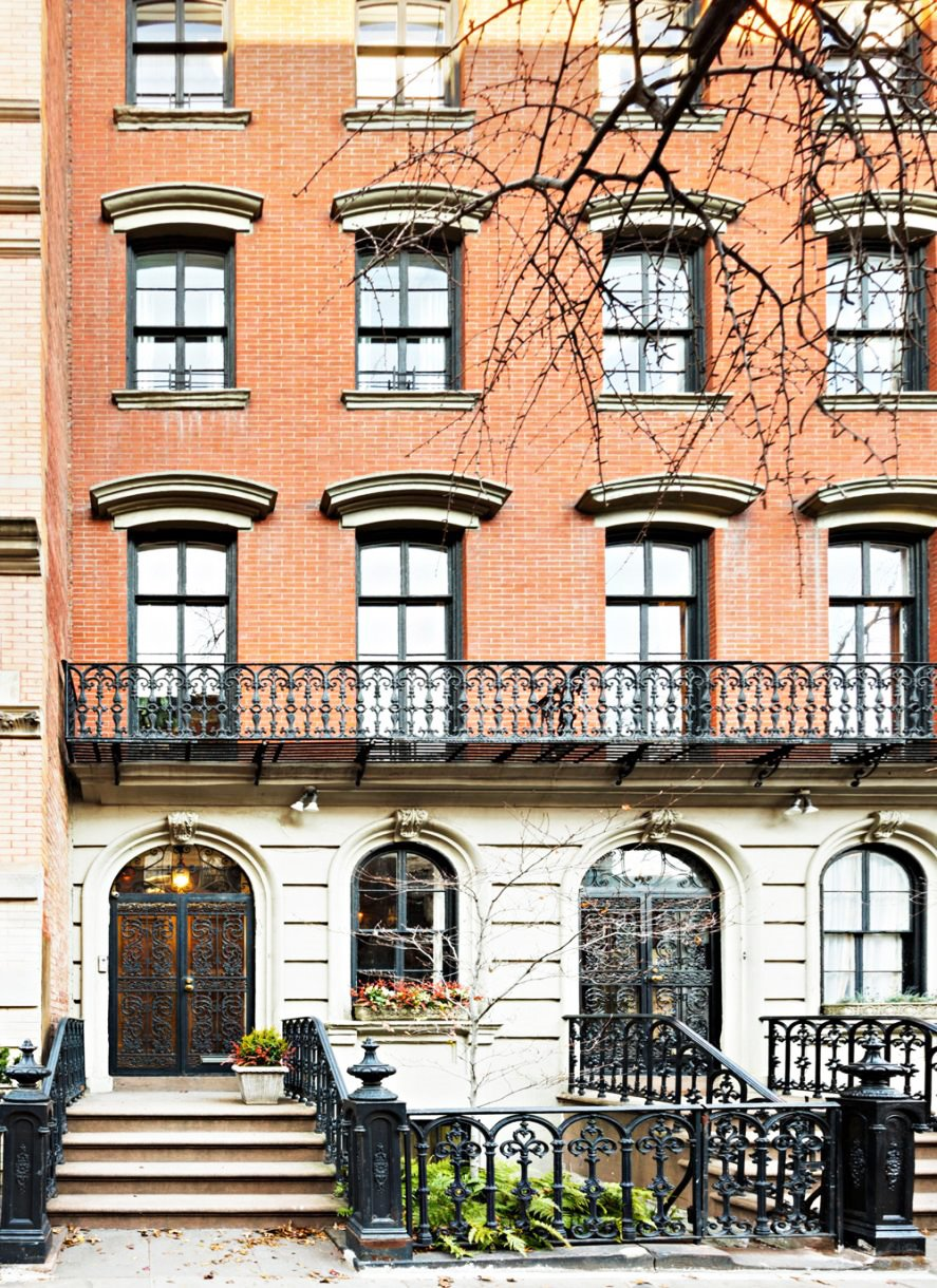 Mary-Kate-Downtown-Manhattan-townhouse-fachada
