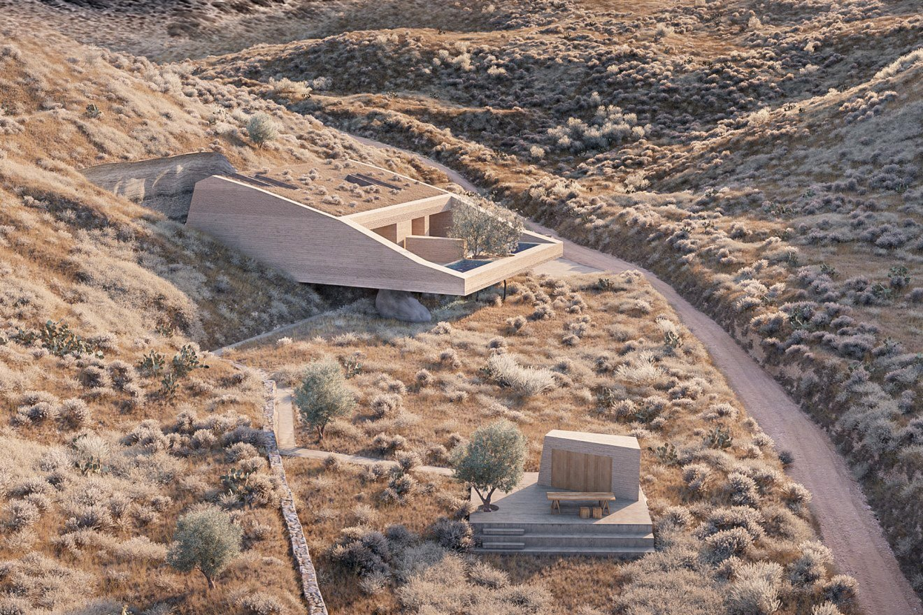 kapsimalis-architects-two-houses-06. kapsimalis-architects-two-houses-santorini-terreno
