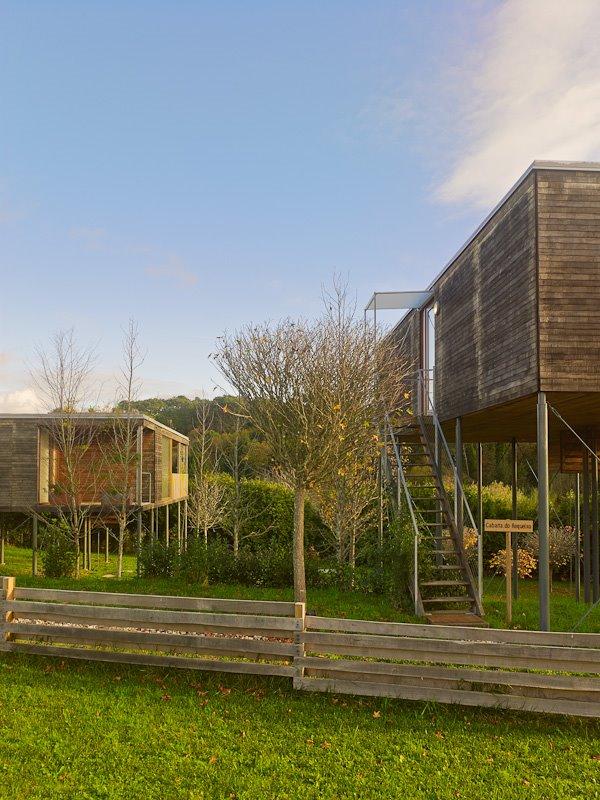 Las casas de Addomo se montan en la propia parcela ensamblando los elementos prefabricados. De esta manera no se generan residuos.