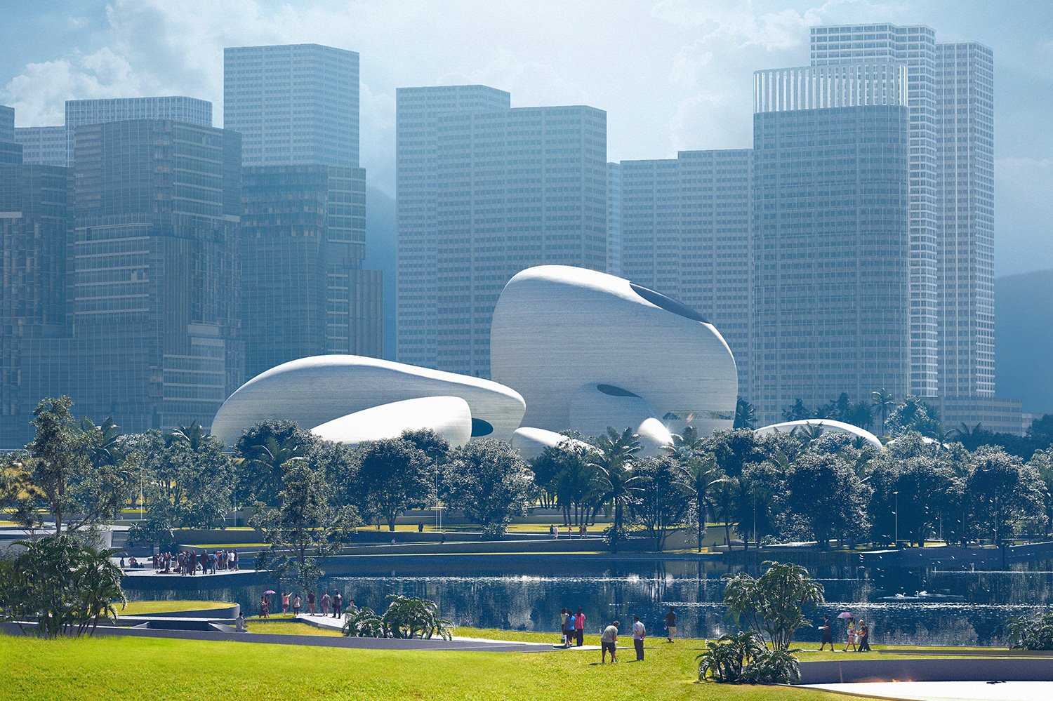 04 MAD Shenzhen Bay Cultural Park by MIR