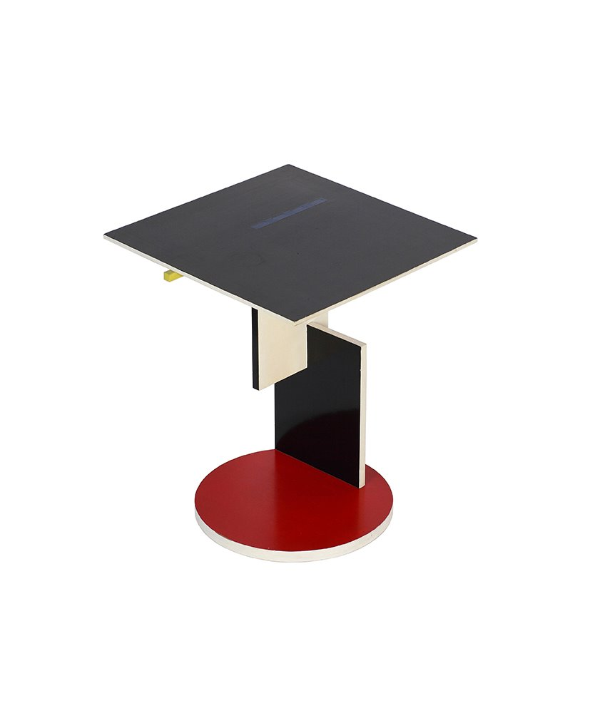 design miami End Table by Gerrit Rietveld at Galerie VIVID