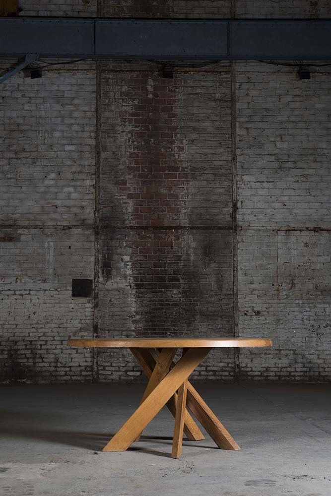 design miami Pierre Chapo T21 dining table at Magen H
