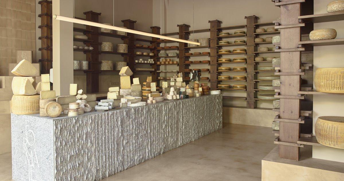 Un nuevo templo del queso en Madrid