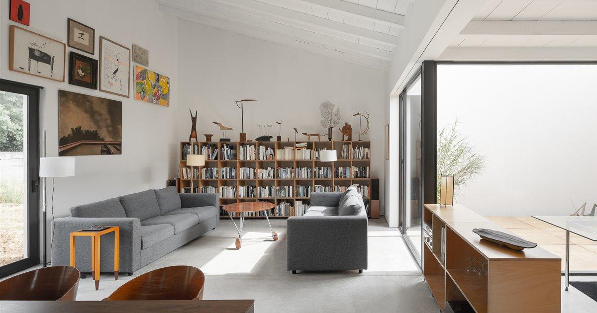 Una casa en el Ampurdán en el que el arte y el diseño lo impregnan todo