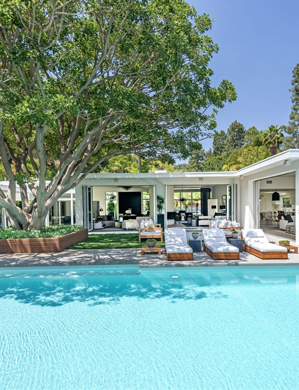 La supermodelo Cindy Crawford vende su casa en Beverly Hills