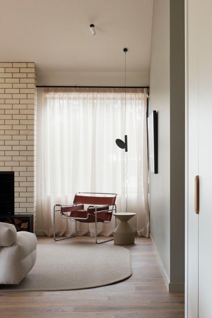 Esta silla es la pieza que grita 'diseño' en voz alta.
