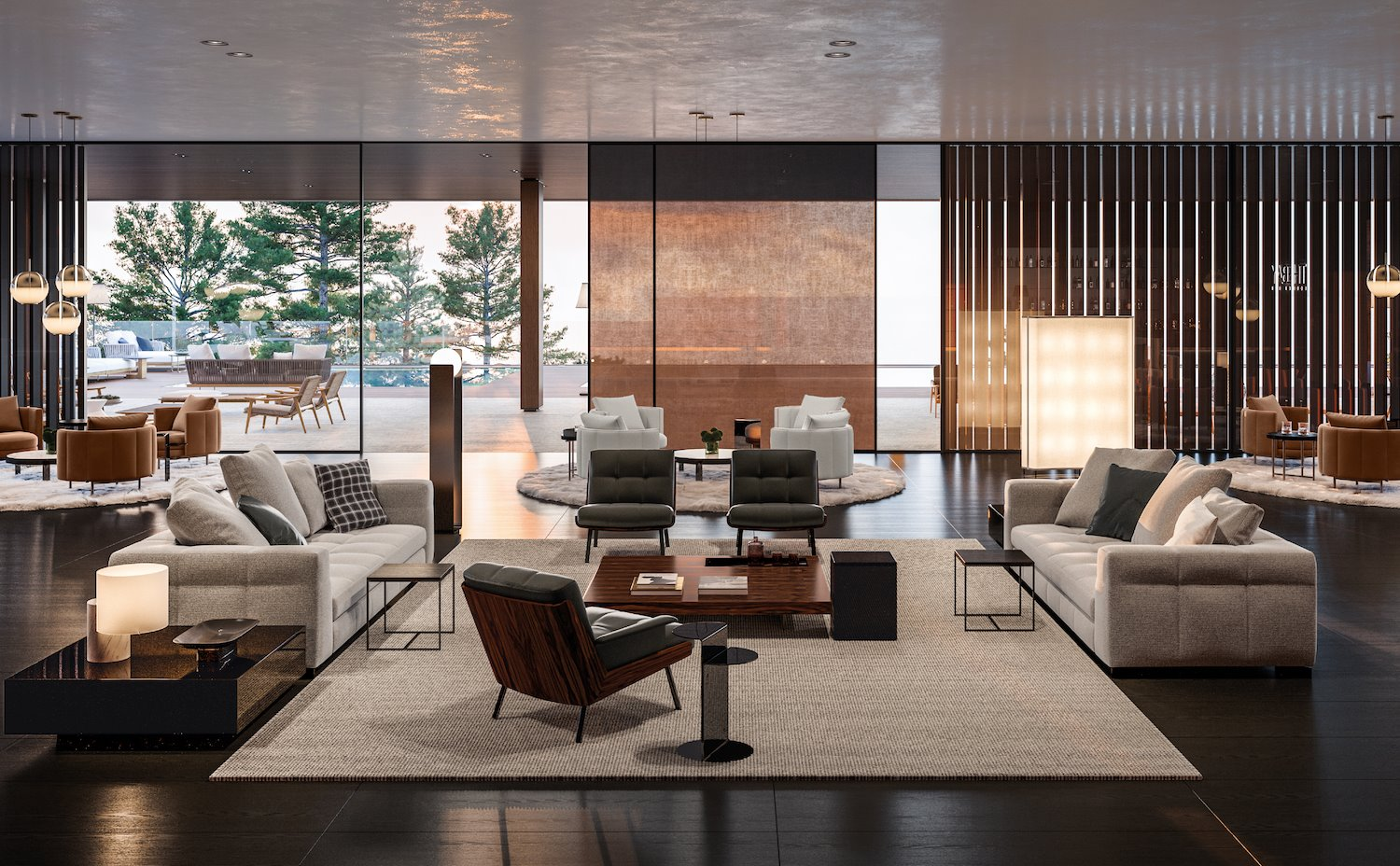 resort the club 8 Minotti