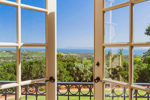 Casa Katy Perry Orlando Bloom California ventana
