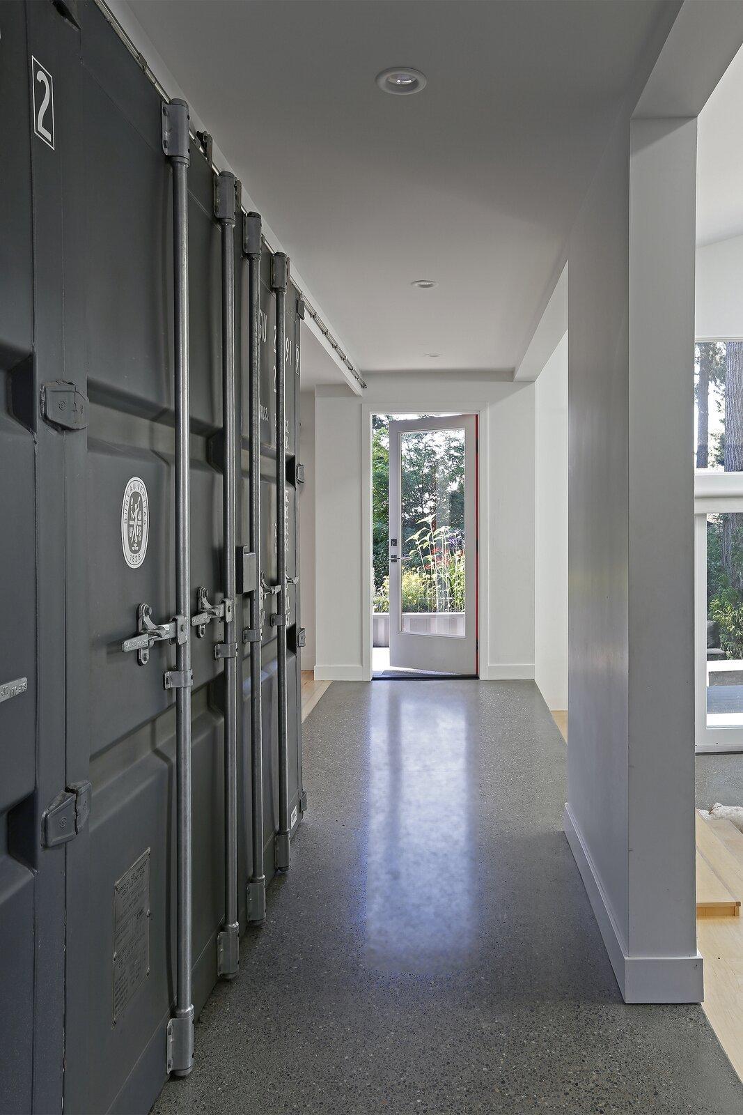 casa contenedores pasillos