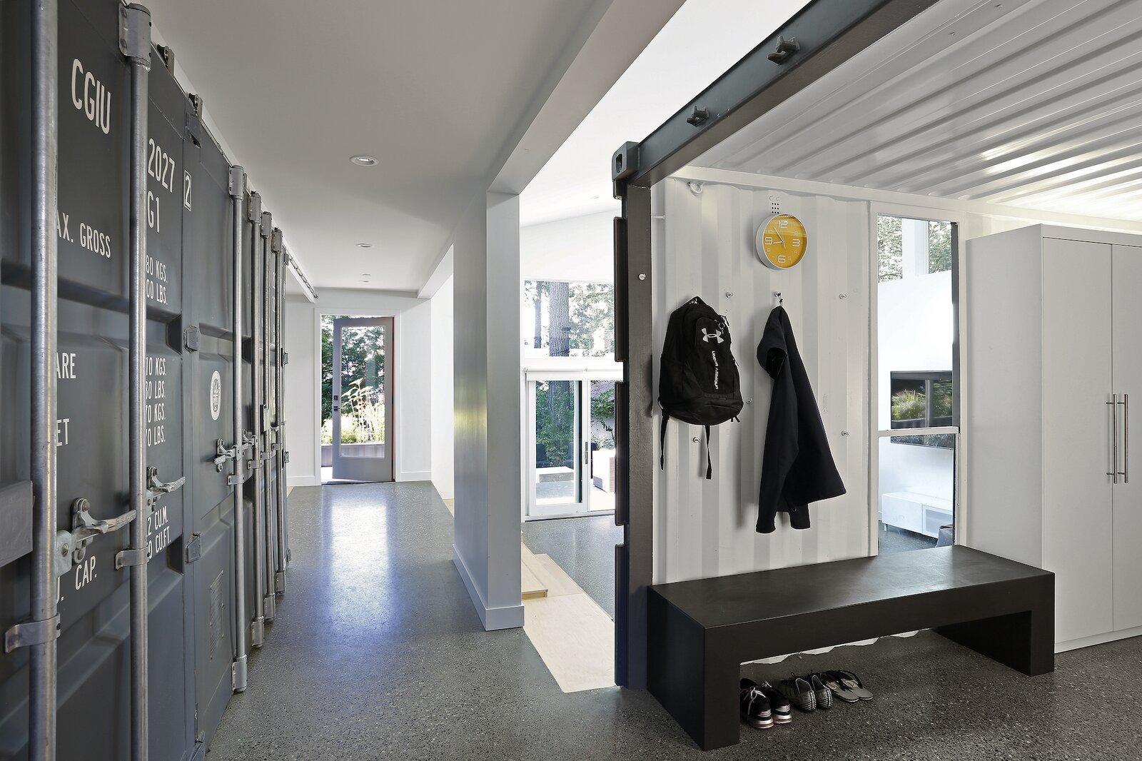 casa contenedores recibidor