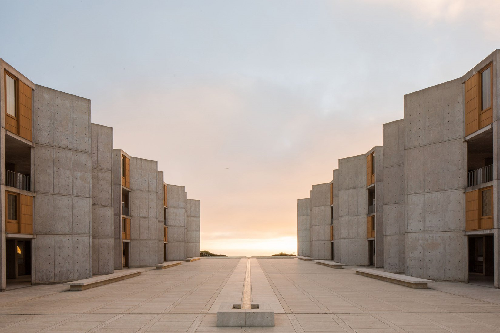1963 Salk institute Louis Kahn