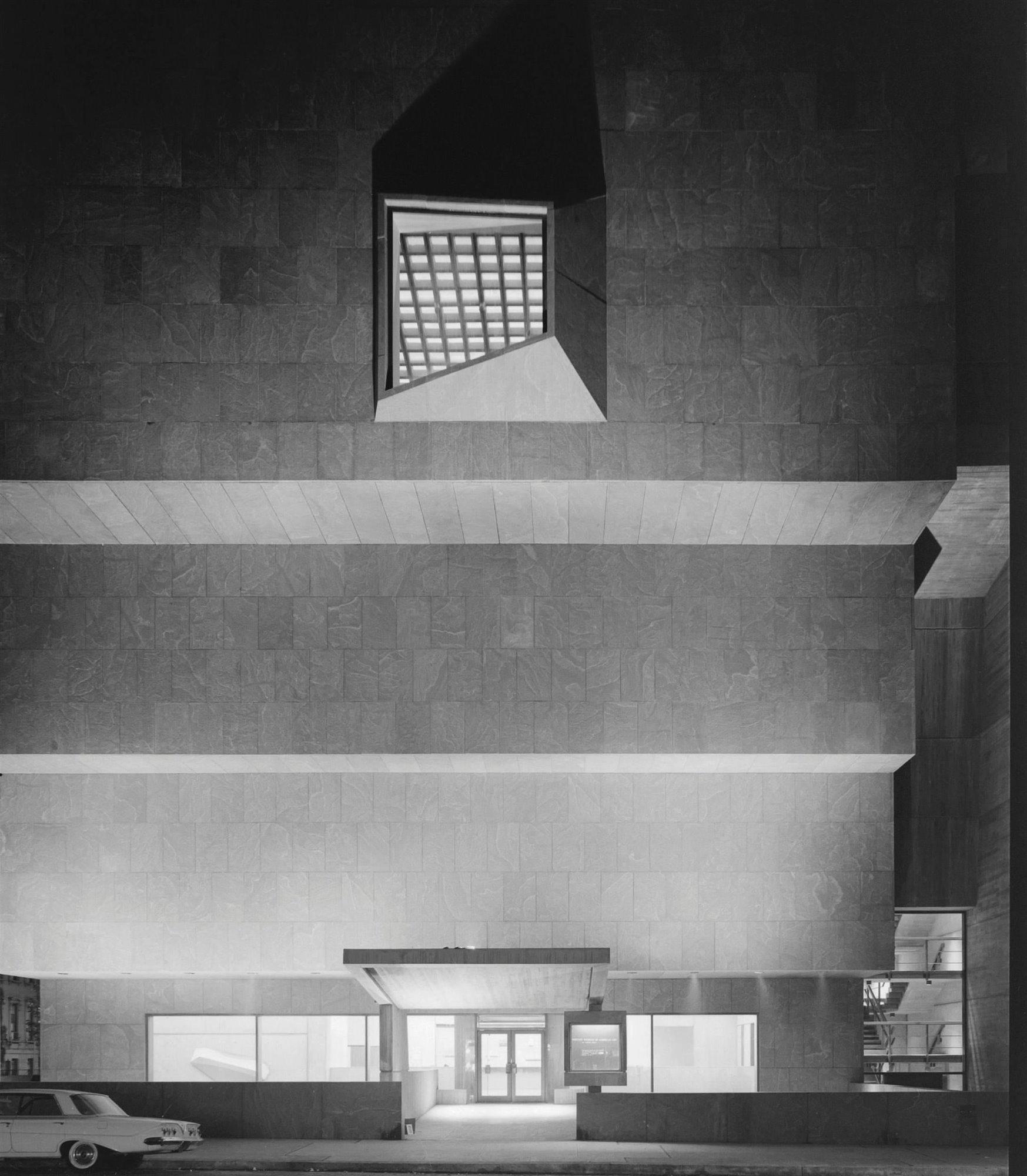 1966 Whitney Museum Marcel Breuer