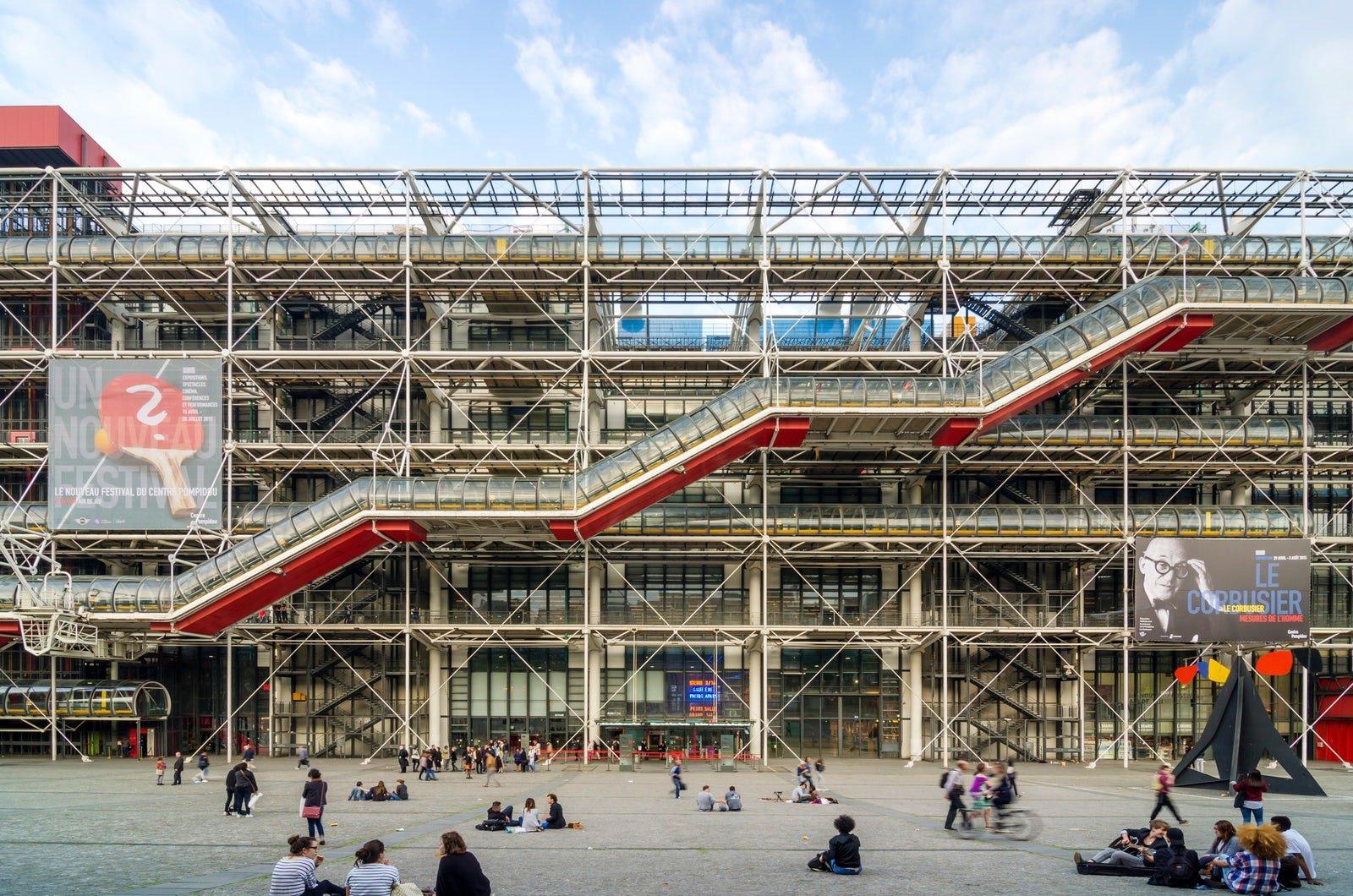1977 Center Georges Pompidou